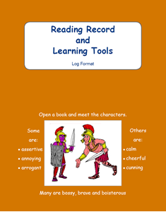 Picture of BE104 Year 3 Reading Record and Learning Tools (Brown) - Log Format