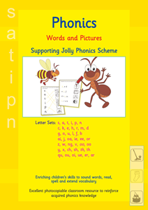 Picture of BPUW602 Words and Pictures - Jolly Phonics