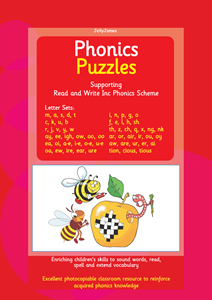 Picture of BPUZ503 Phonics Puzzles - Read Write Inc. (Red)