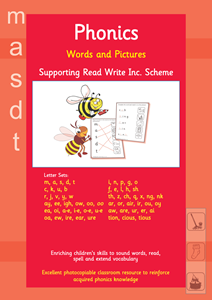 Picture of BPUW603 Words and Pictures - Read Write Inc. (Red)