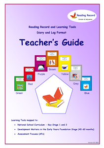 Picture of BE108 Teachers Guide: Reading Record and Learning Tools