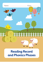 Picture of BDA5-R101 Y1 Reading Diary and Phonics Phases(Farm) (Matte Cover) - A5 Size
