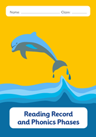 Picture of BDA5-R102 Y2 Reading Diary and Phonics Phases(Dolphin) (Matte Cover) - A5 Size