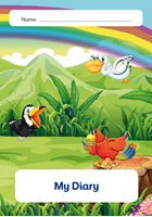 Picture of NUA5-501 Communication Diary - Ages 0 to 2.5 Years (Matte Cover)