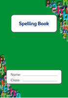 Picture of  BDA5-SD2 Space for Spellings  (Matte Cover) - A5 Size